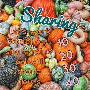 🍁🍂 Let's work together SHARES FOR SHARES 🍂🍁